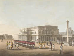 North Entrance Of Tippoo's Palace At Bangalore
